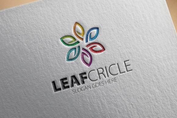 Leaf Cricle Logo