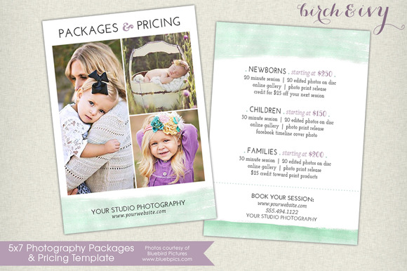 Photography Packages And Pricing