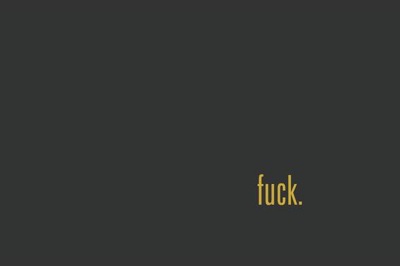 F*CK Wallpaper