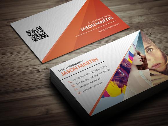Unique Photographer Business Card