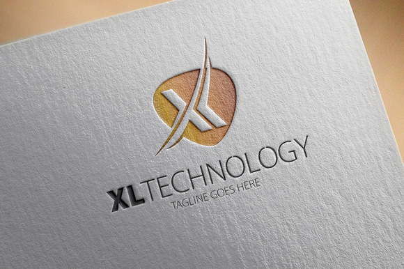 XL Technology X Letter Logo