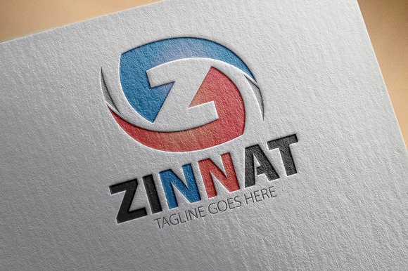 Zinnat Z Letter Logo