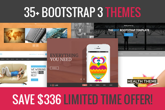 35 Bootstrap 3 Themes Deal