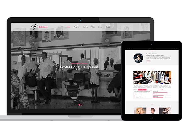 Barbershop HTML5 And CSS3 Template