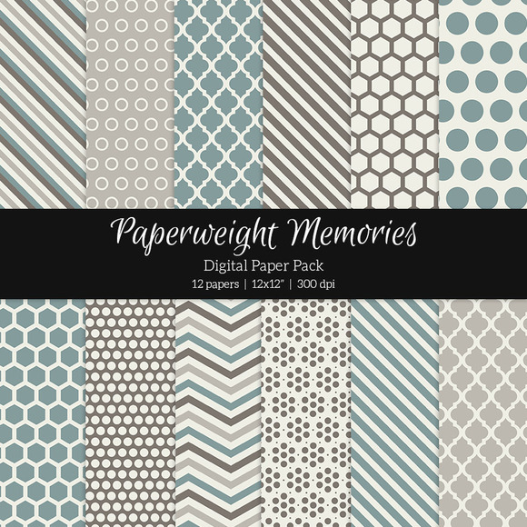 Patterned Paper Come Away With Me