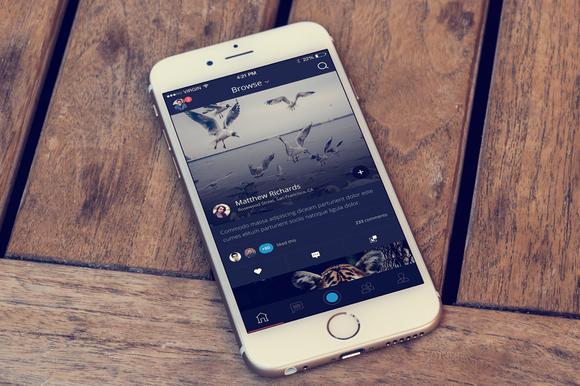 Flux IPhone App Template