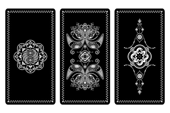 Vector Illustration Design For Tarot