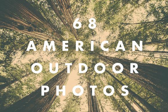 68 American Outdoor Photos