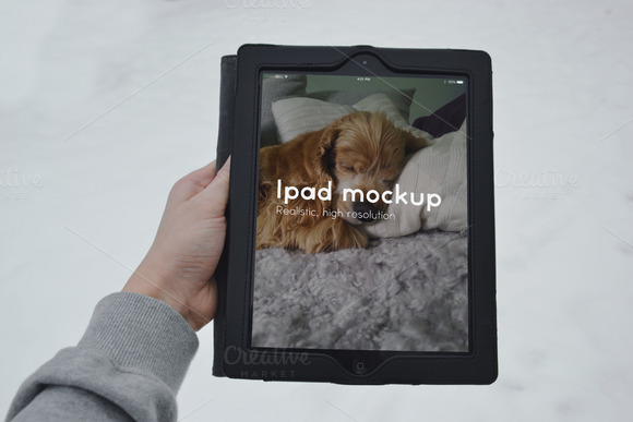 3 Ipad Mock Ups For Only 3 Dollar