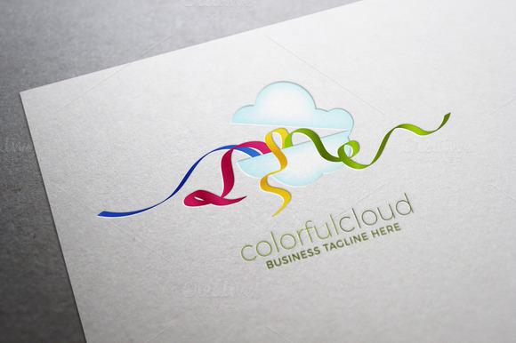 Colorful Cloud Logo