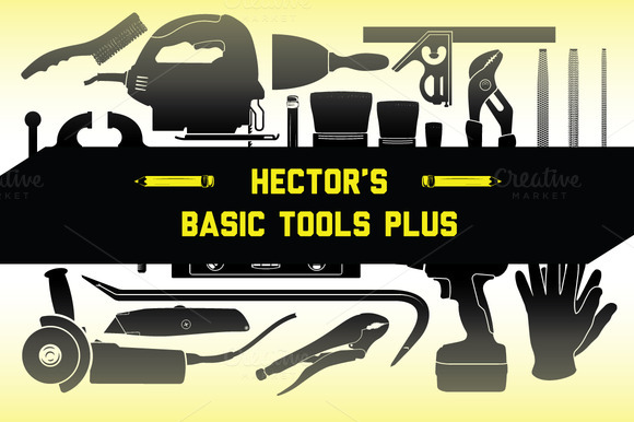 Hector S Basic Tools Vector