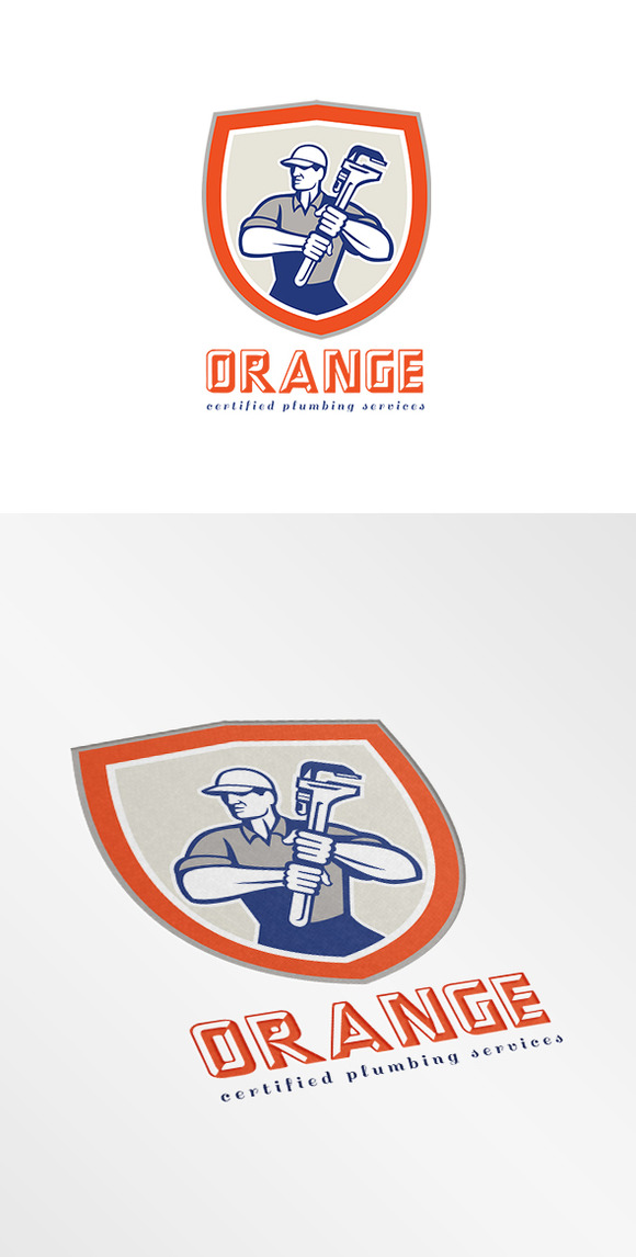 Orange Plumbing Services Logo