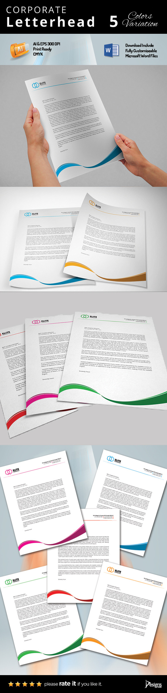 Letterhead MS Word