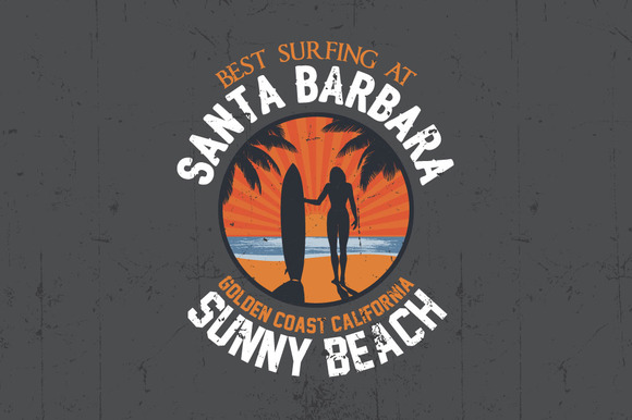 Santa Barbara Label