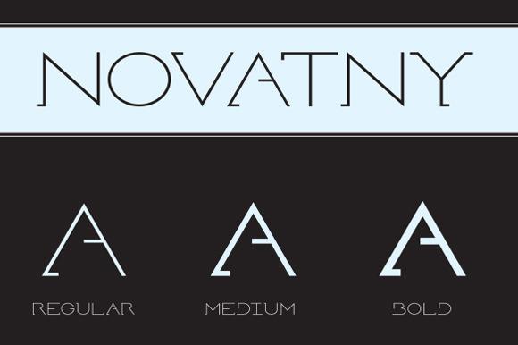 Novatny Font
