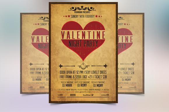 Vintage Valentine Flyer