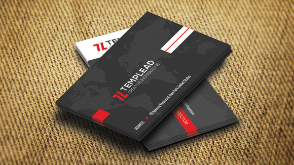 Corporate Business Card SE0308