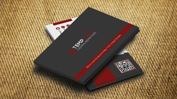 Corporate Business Card SE0315