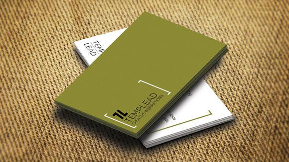 Corporate Business Card SE0322