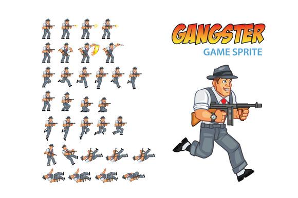 Gangster Game Sprite