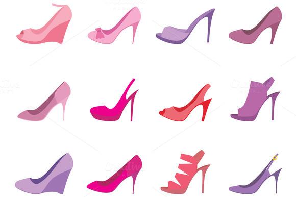 Female Shoes Set