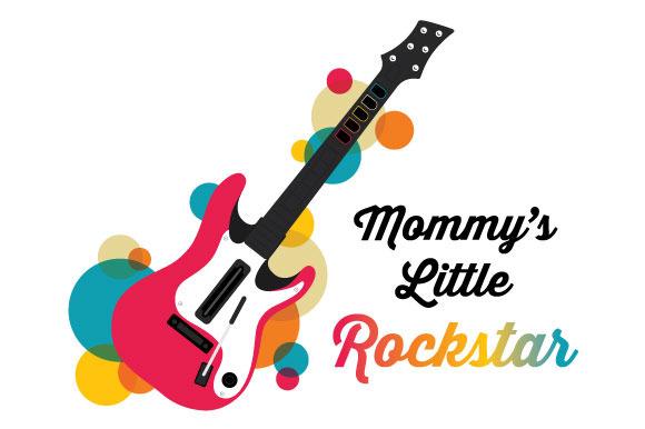 Mommy S Little Rockstar
