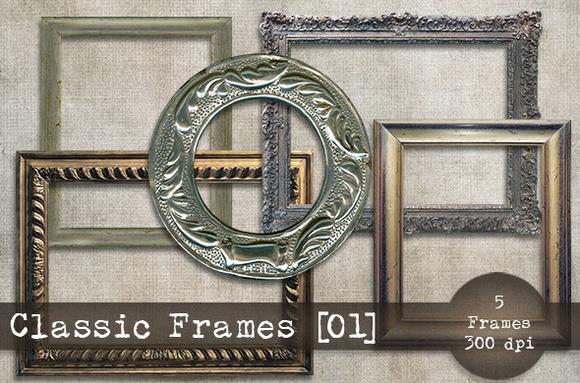Classic Frames Set 01