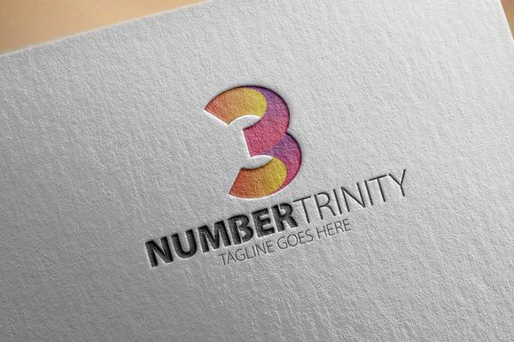 Number Trinity Logo