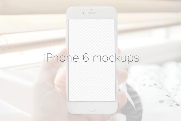 4 IPhone 6 Mockups