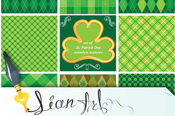 Patterns St Patrick S Day
