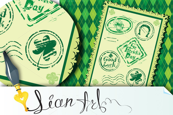 Stamps St Patrick S Day
