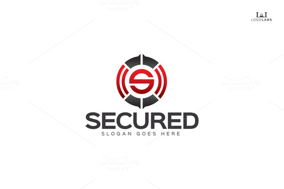 Secured Letter S Logo