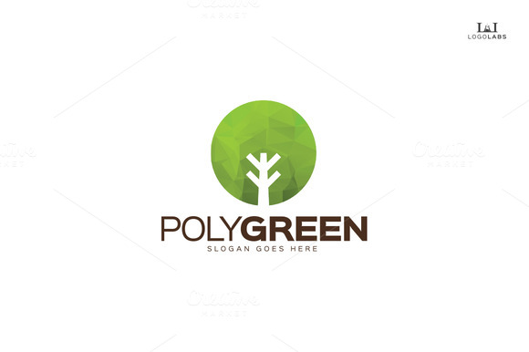 Poly Green Logo