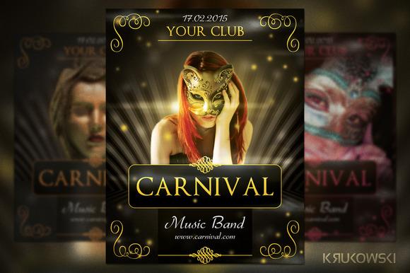 Carnival Elegant Flyer