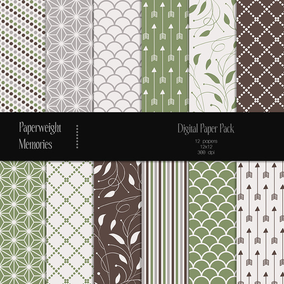 Patterned Paper Fresh Air