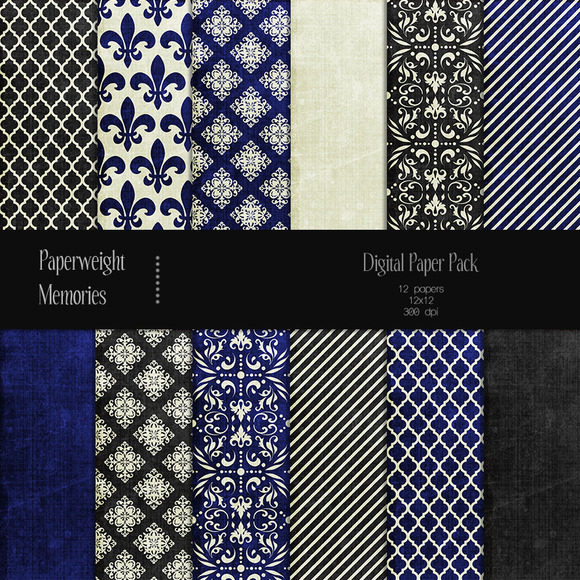 Patterned Paper Royal Affair