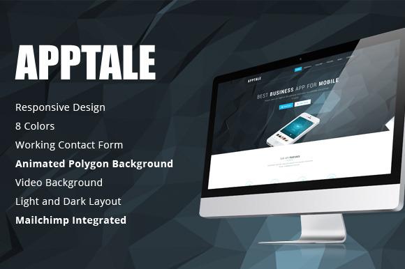 AppTale HTML App Landing Page
