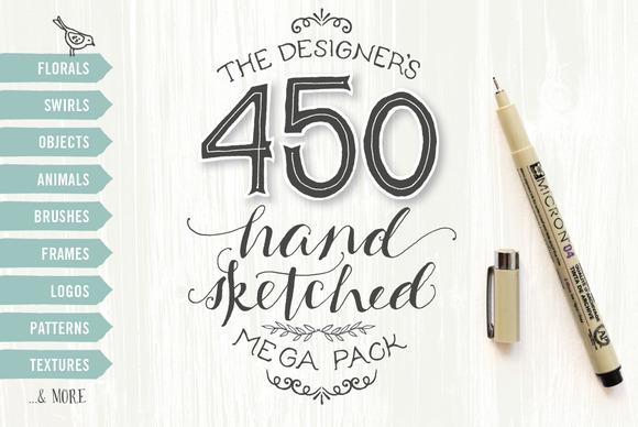 Designer S Hand Sketched Megapack