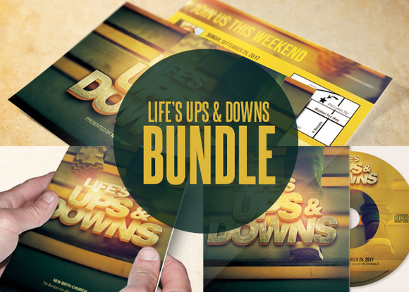 Life S Ups And Downs Print Bundle