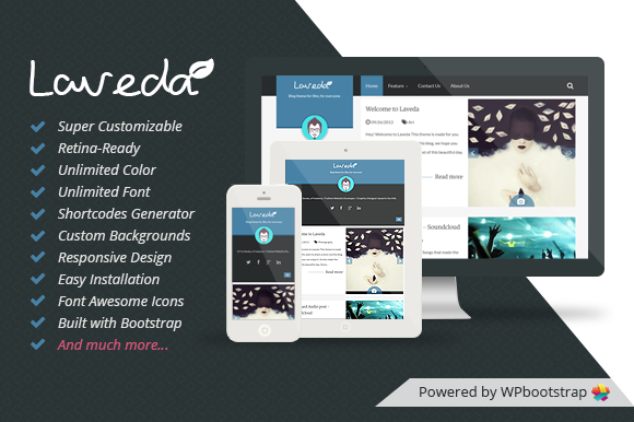 Laveda Responsive WP Blog Theme