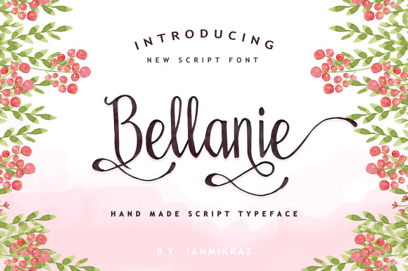 Bellanie Script
