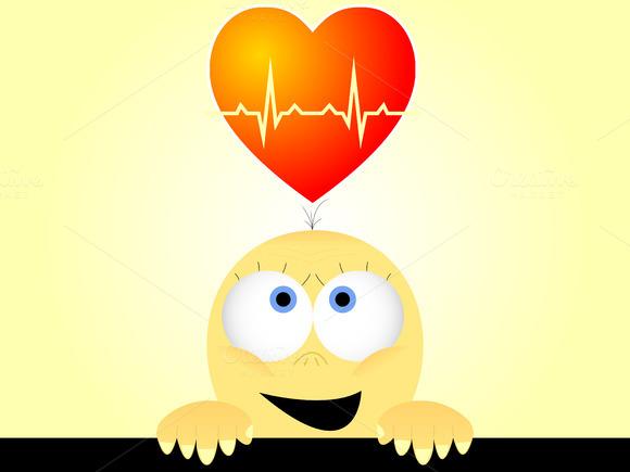 Heartbeats Vector Illustration