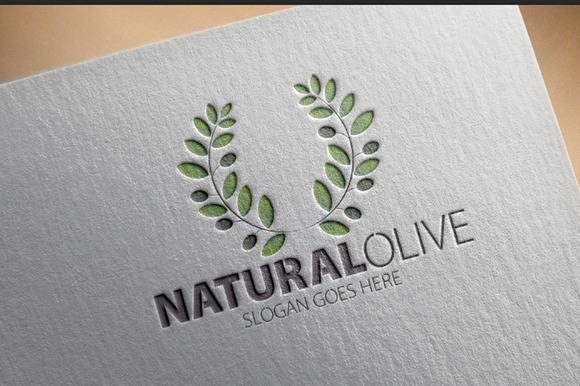 Natural Olive Logo