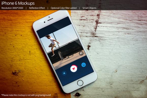 IPhone 6 Mockup 8