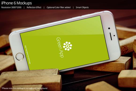 IPhone 6 Mockup 10