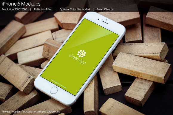 IPhone 6 Mockup 9