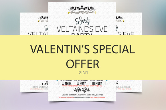 Valentine Flyer Special Offer