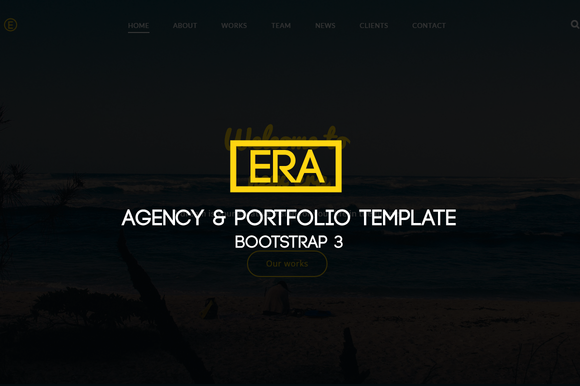 Era Agency Portfolio Template