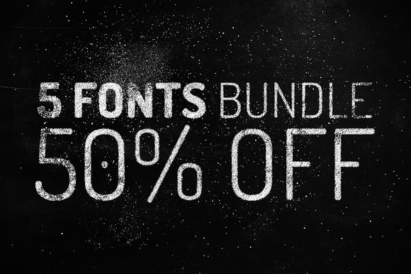 5 Fonts Bundle