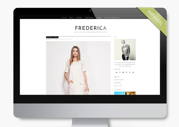 Frederica Wordpress Theme Blog
